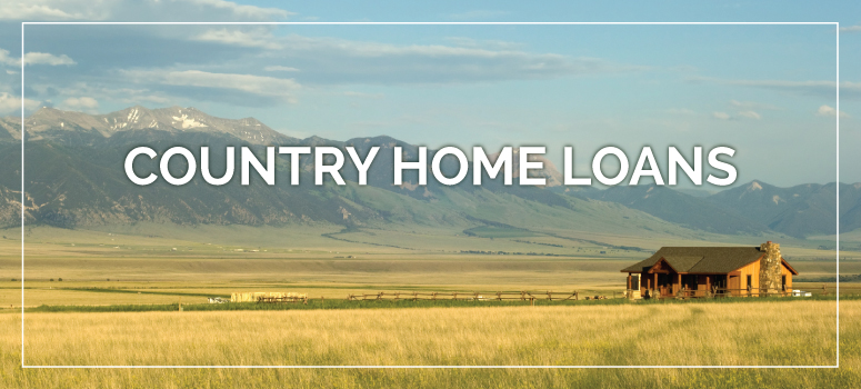 We offer ranch and large acreage financing
